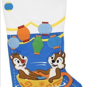 Disney Parks Chip and Dale Stocking